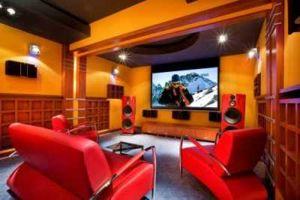 sala prezentacyjna kina domowego